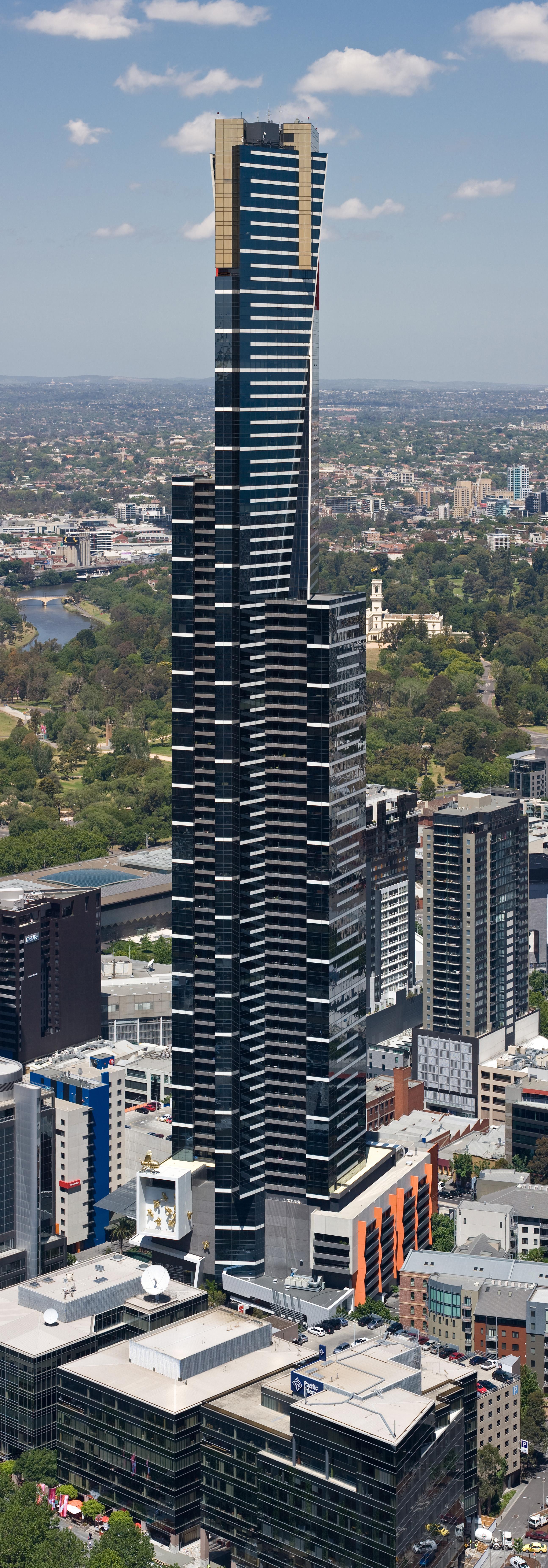 Eureka Tower, Melbourne   Nov 2008