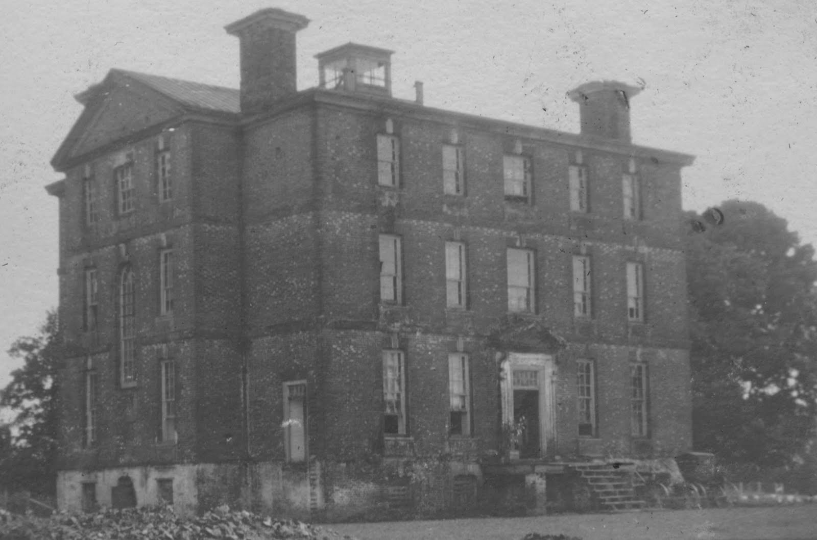File Exterior Of Rosewell Plantation Gloucester County