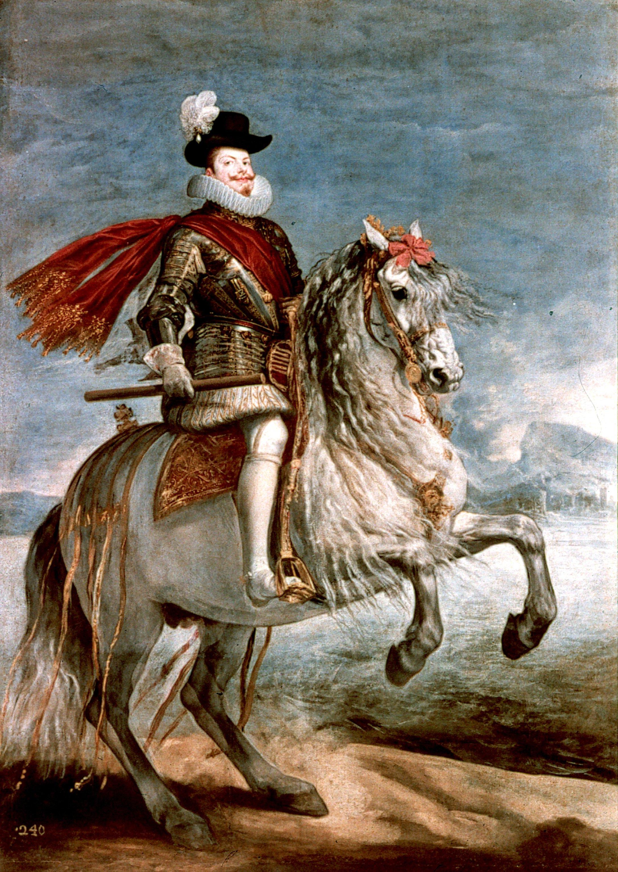 King Philip III of Spain (r. 1598–1621).
