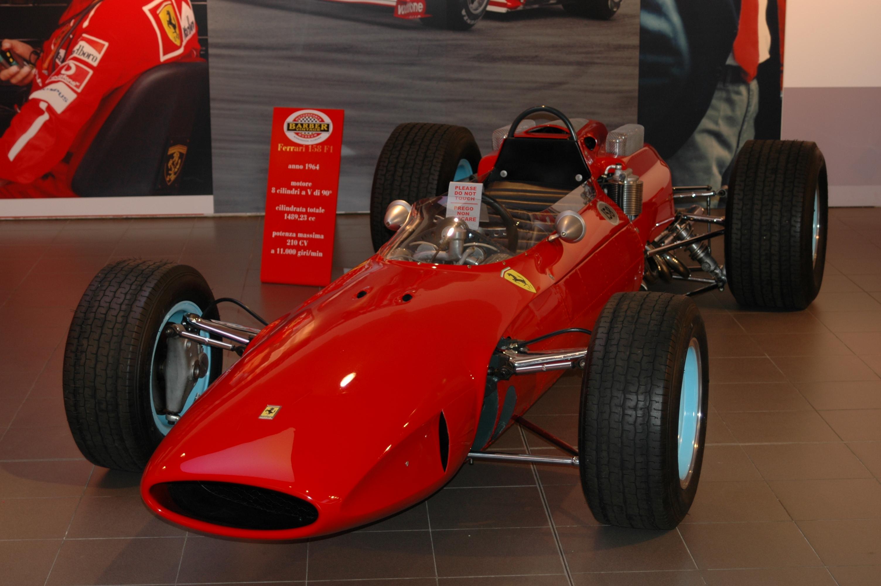 1964 ferrari f-158 f1