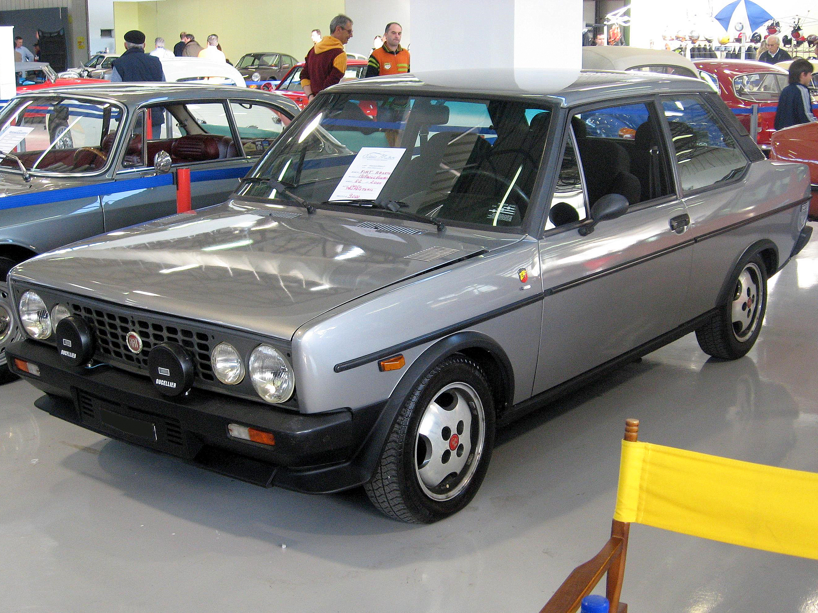 File:Fiat 131-Volumetrico-Abarth.JPG - Wikimedia Commons