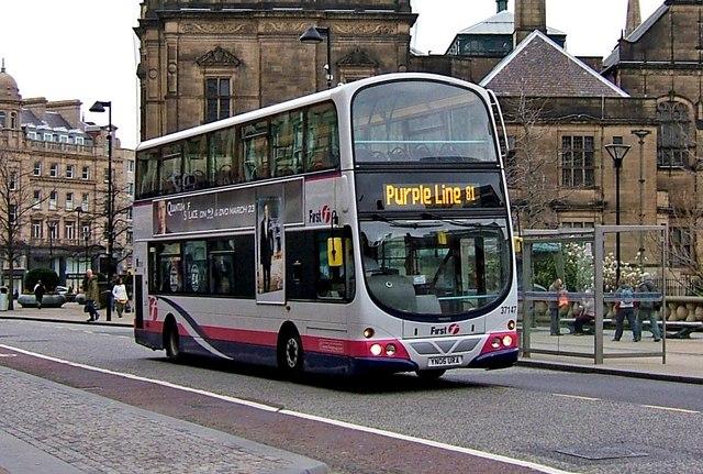 File Firstgroup Bus 37147 Volvo B7tl Wrightbus Eclipse Gemini Yn06 Ura In Sheffield South