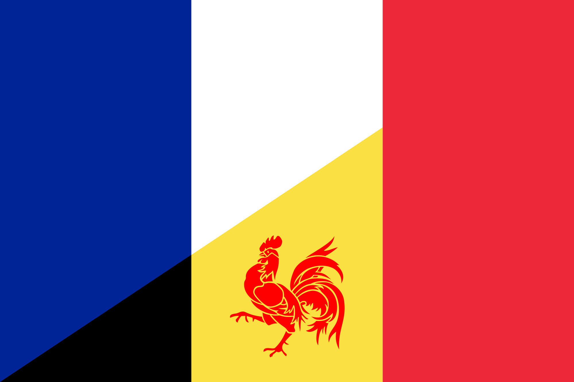 File:Flag of French language (Wallonia).png - Wikimedia Commons