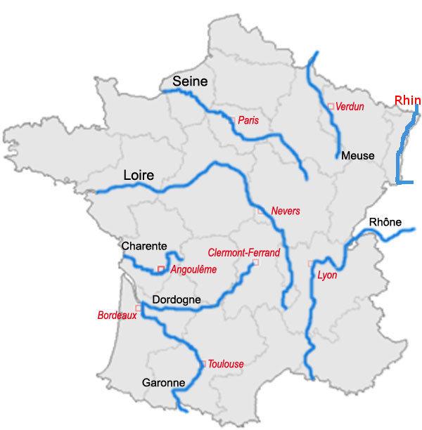 fransk flod på 4 bogstaver