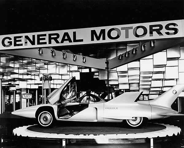 File General Motors Corporation Exhibit Showing The Firebird Iii