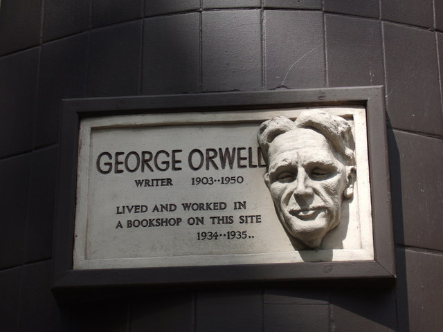 File:George Orwell in Hampstead - geograph.org.uk - 432863.jpg