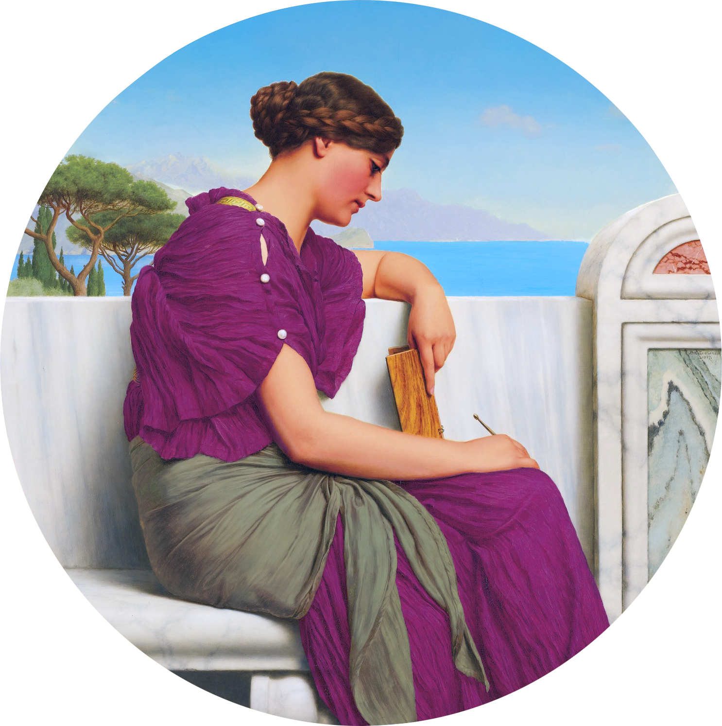 File:Godward-The Answer-1917.jpg