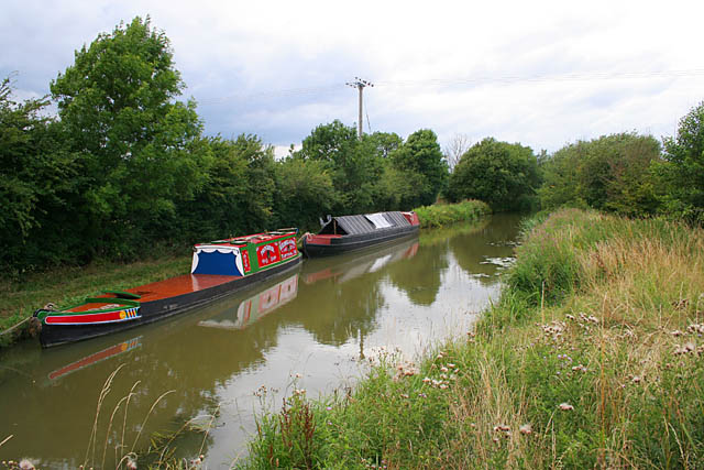 Grand Union Canal near Fleckney - geograph.org.uk - 213057