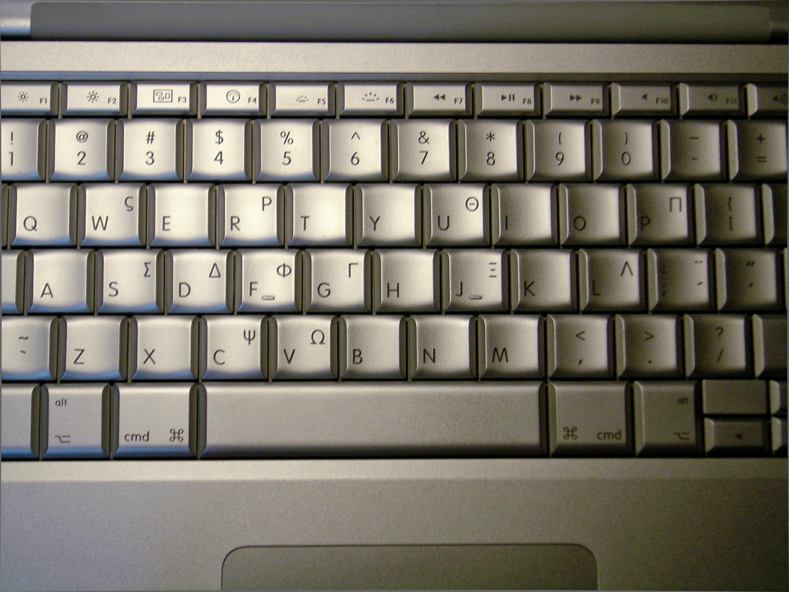 Filegreek Keyboard Macbook Prog Wikimedia Commons