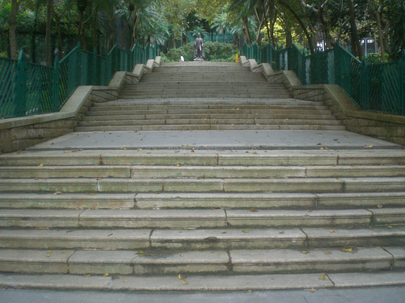 File:HK ZaB Garden King George VI Statue Outdside Stairs.JPG