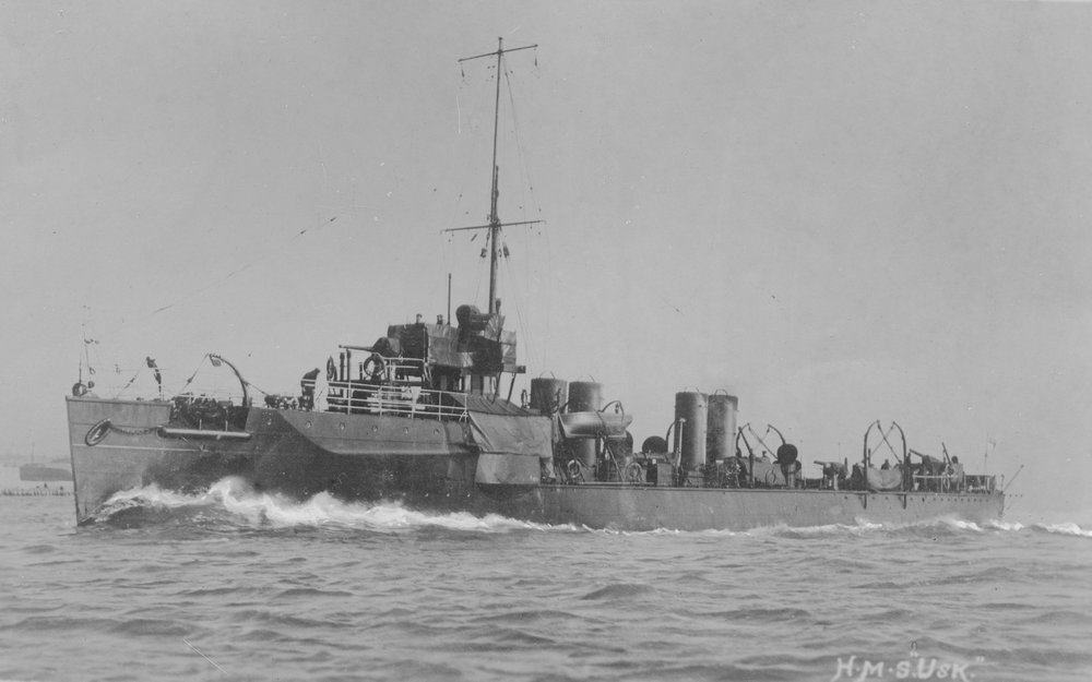 HMS Exmouth, battleship - British warships of World War 1