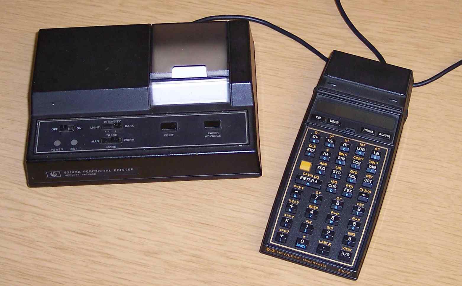 HP-41C calculator