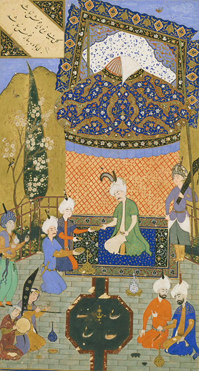 http://upload.wikimedia.org/wikipedia/commons/2/22/Hafiz_-_Prince_Entertained_on_a_Terrace.jpg