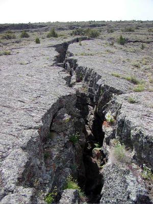 Hell's Half Acre rift - Idaho