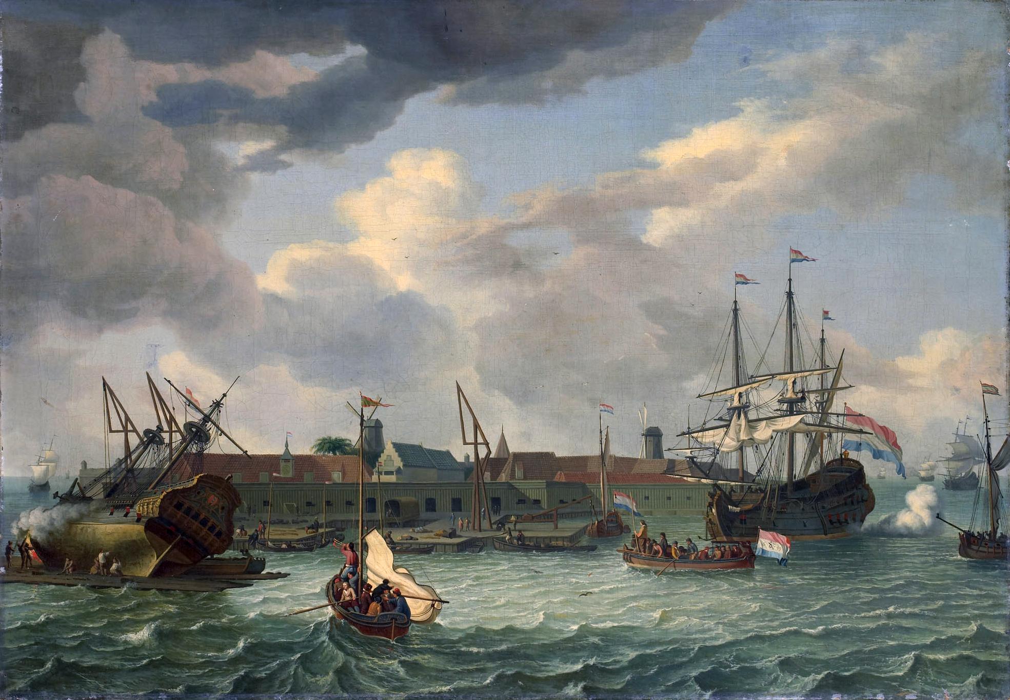 Sejarah Pulau Onrust 1699