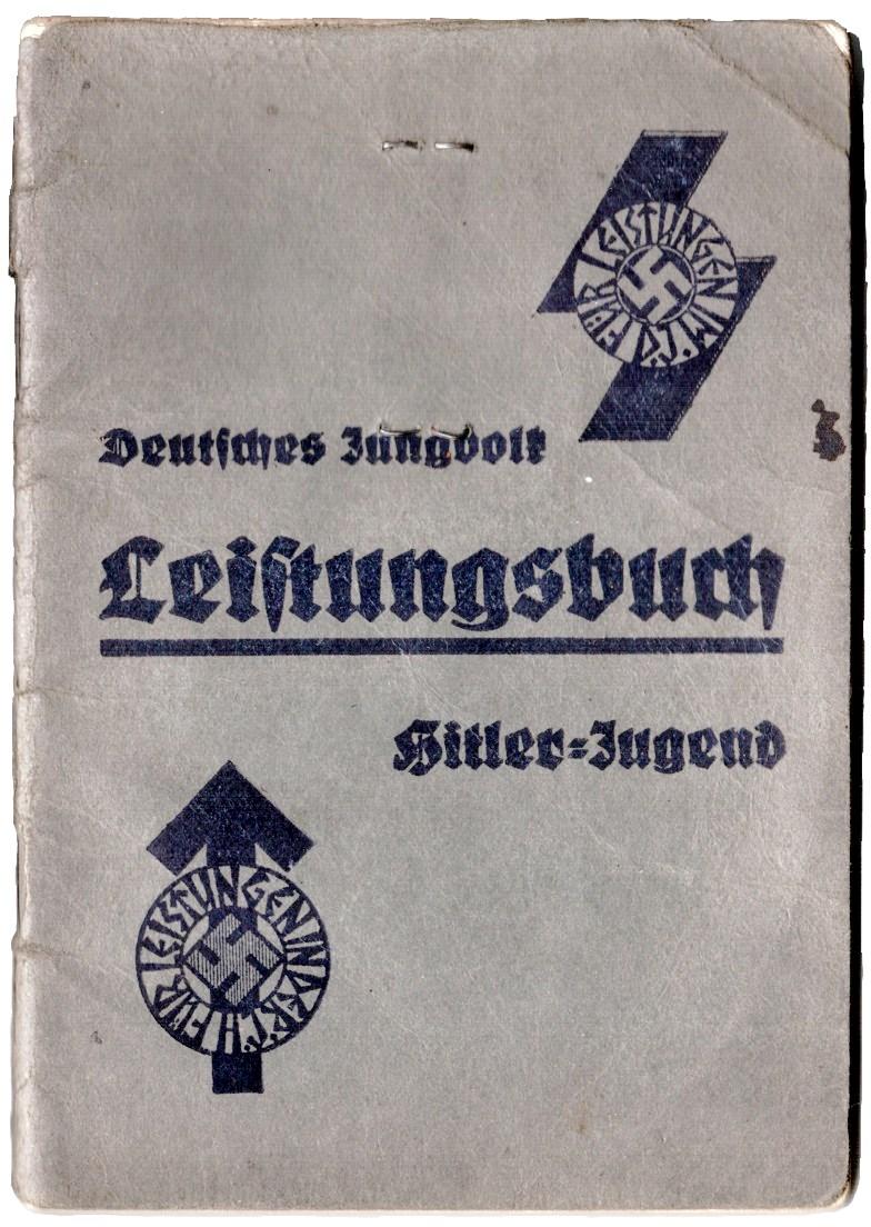 File Hitlerjugend Leistungsbuch Gross Jpg Wikimedia Commons