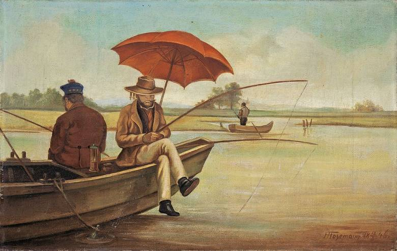 filehosemann angler im boot mit schirmjpg wikimedia With französischer balkon mit sonnenschirm boot