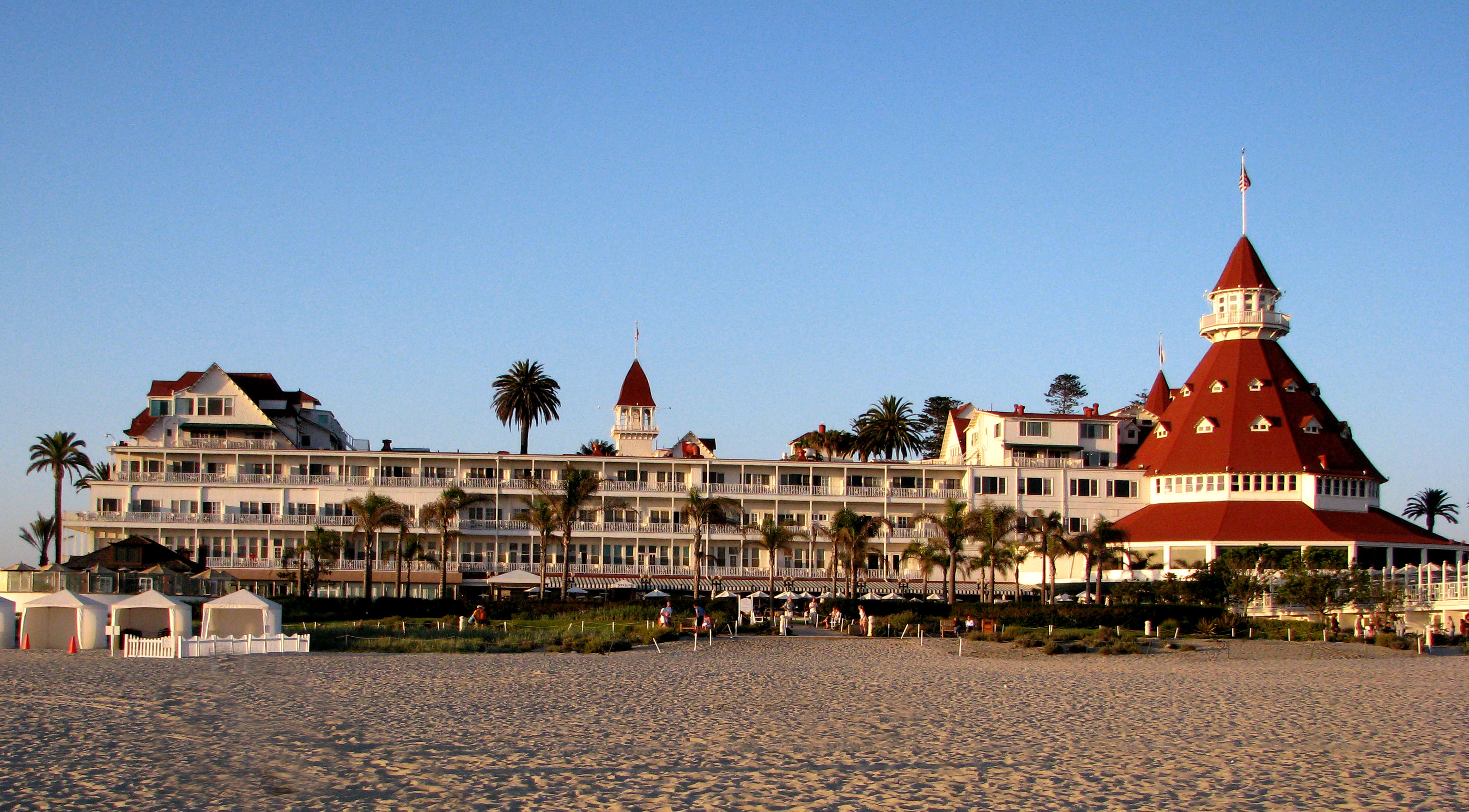 Coronado Hotel San Diego Tours