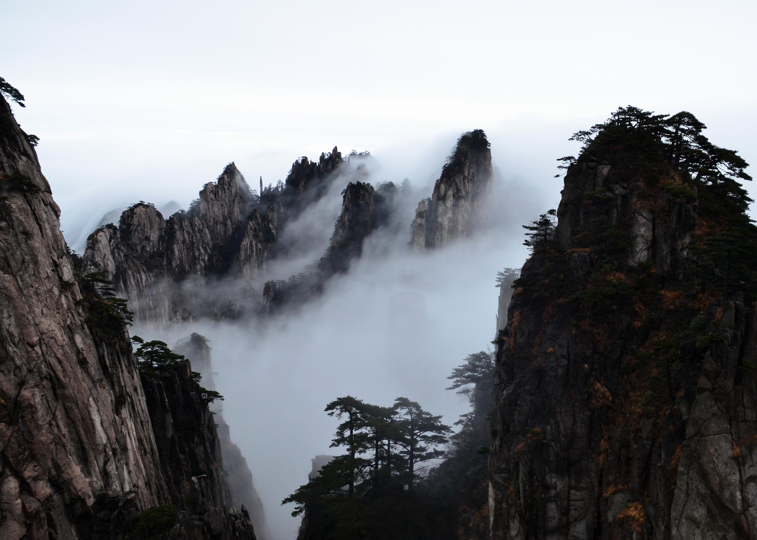 Huangshan-瀑布云 20141109.JPG