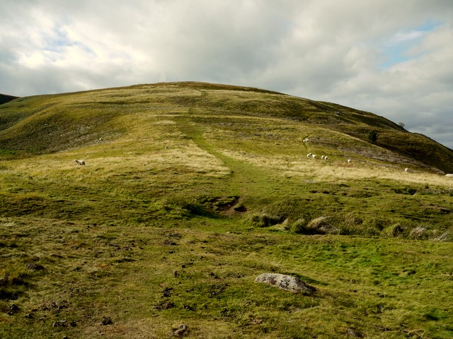 Humbleton Hill from the east side - geograph.org.uk - 1509255