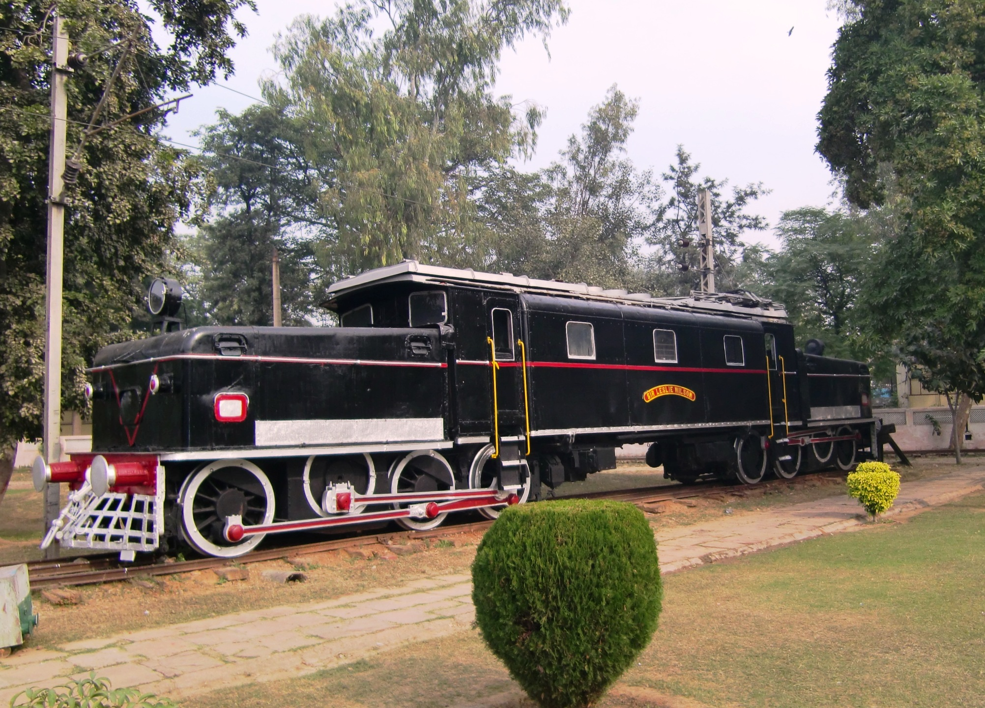 Indian Electric Local Train Side View