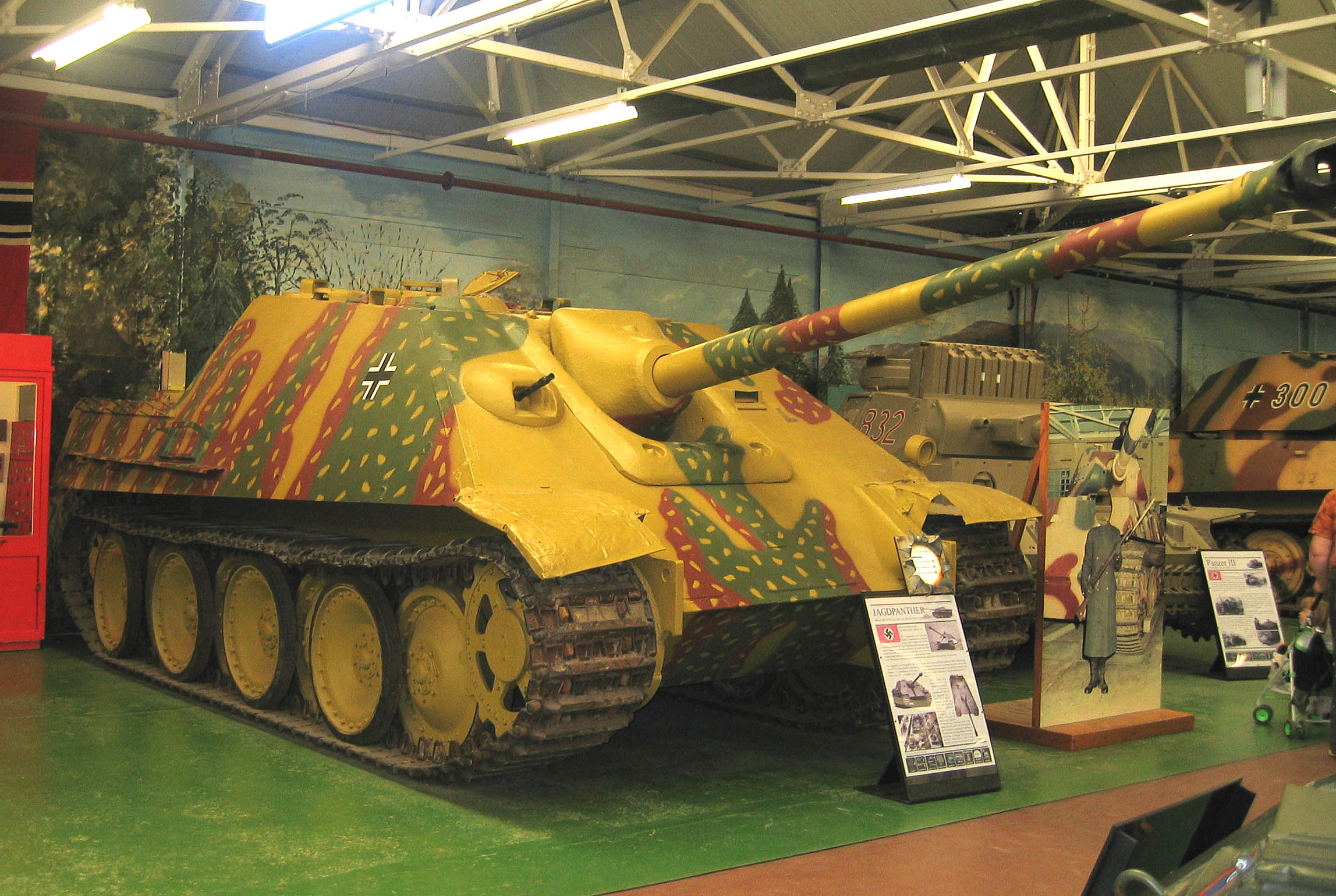 File:Jagdpanther Tank, Bovington.jpg