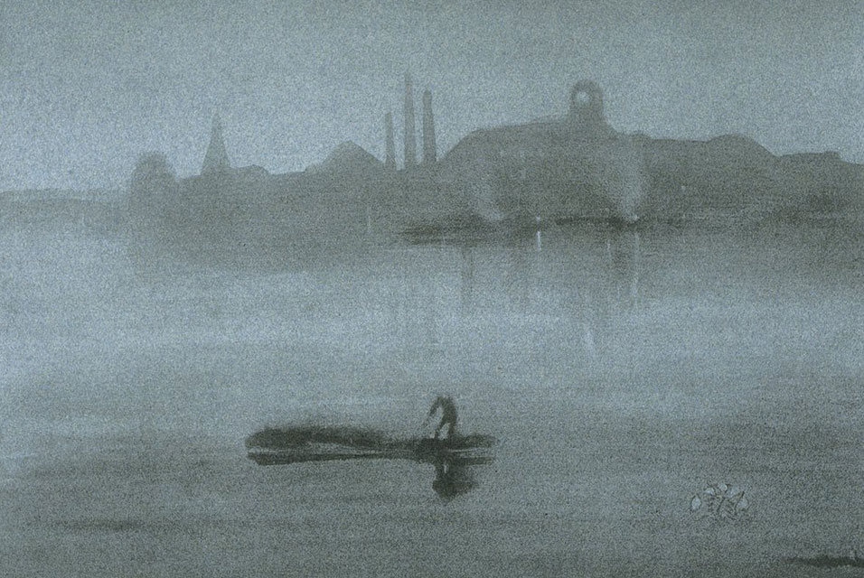 Nocturne by Whistler (1878)