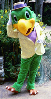 Joe Carioca in het Walt Disney World Resort