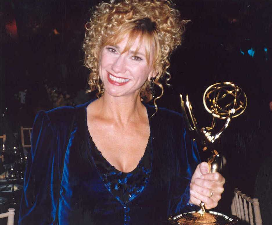 Kathy Baker Edward Scissorhands Scene Baker at the 45th emmy awards,