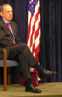 Howells as a Foreign Office Minister in 2007
