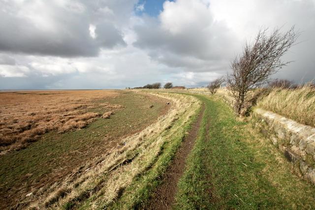 Lancashire Coastal Path - geograph.org.uk - 1189428