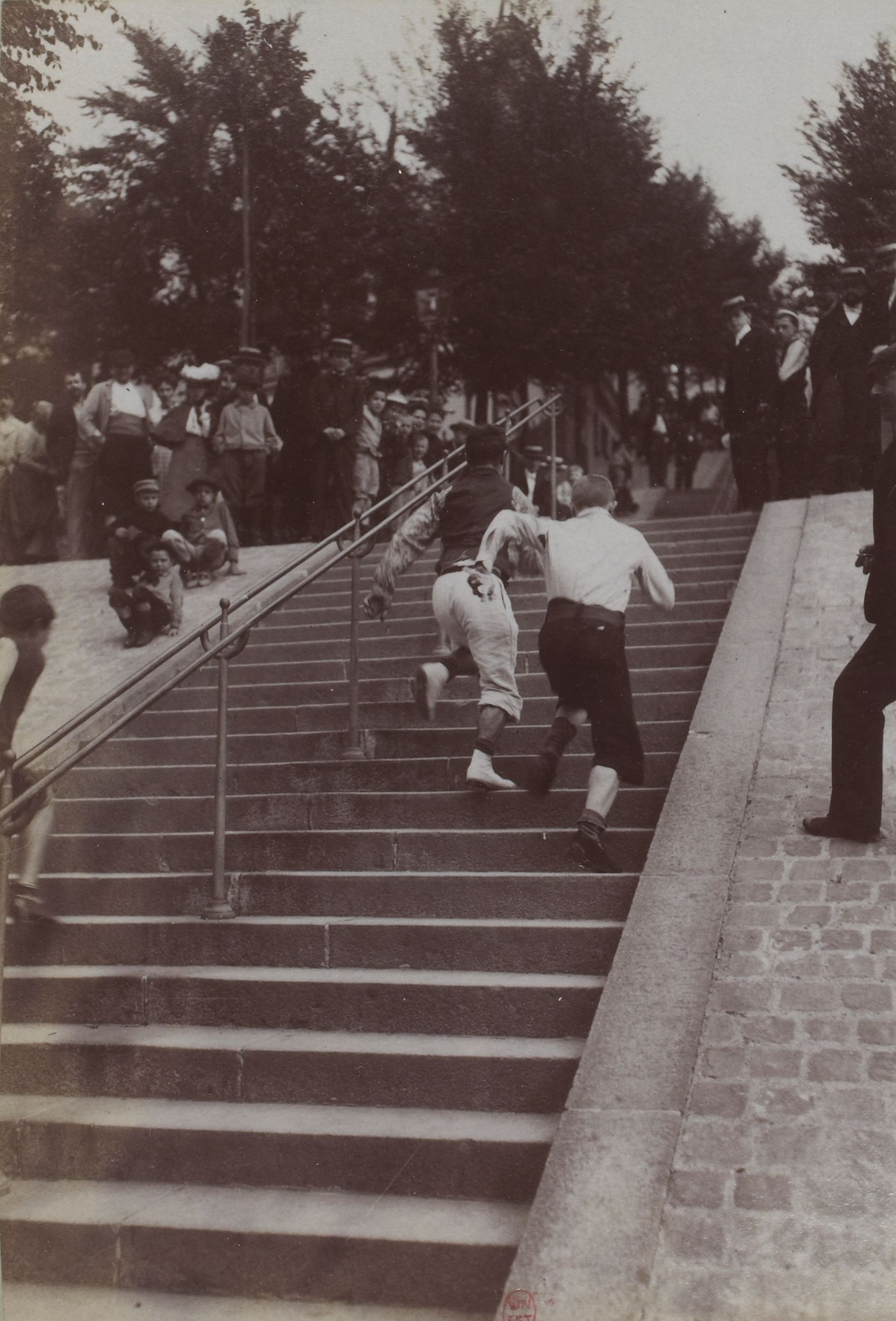fichier le championnat de l 39 escalier paris 1903 jpg wikip dia. Black Bedroom Furniture Sets. Home Design Ideas