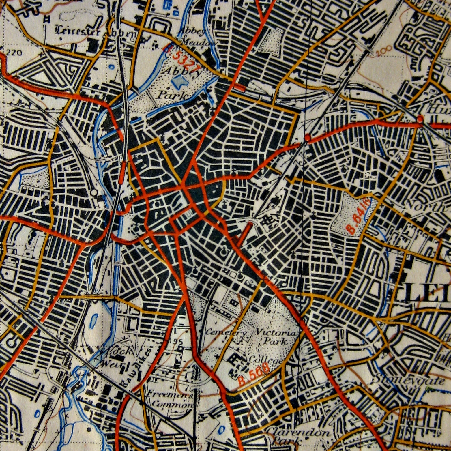 FileLeicester OS MapJPG Wikimedia Commons - Old os maps