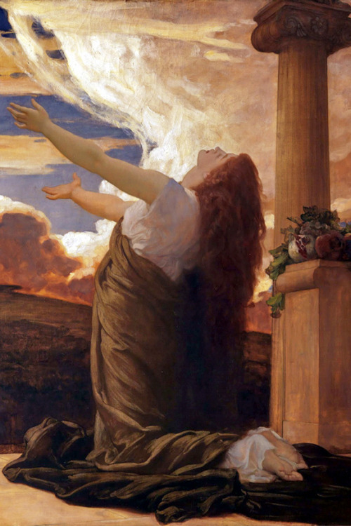 An image of 'Clytie' (1895 – 1896) by Frederic Leighton, 1st Baron Leighton [Public domain]