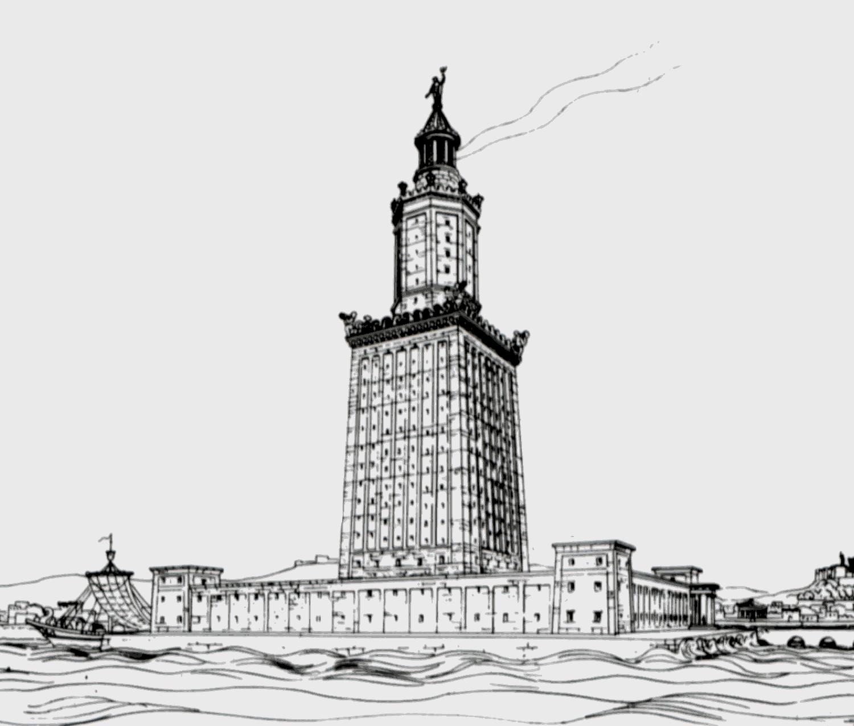 Faro De Alejandría Wikipedia La Enciclopedia Libre