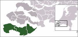 Zeelandic Flanders Region in Zeeland, Netherlands