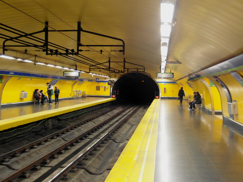 Paradas de metro on emaze Metro santo domingo madrid