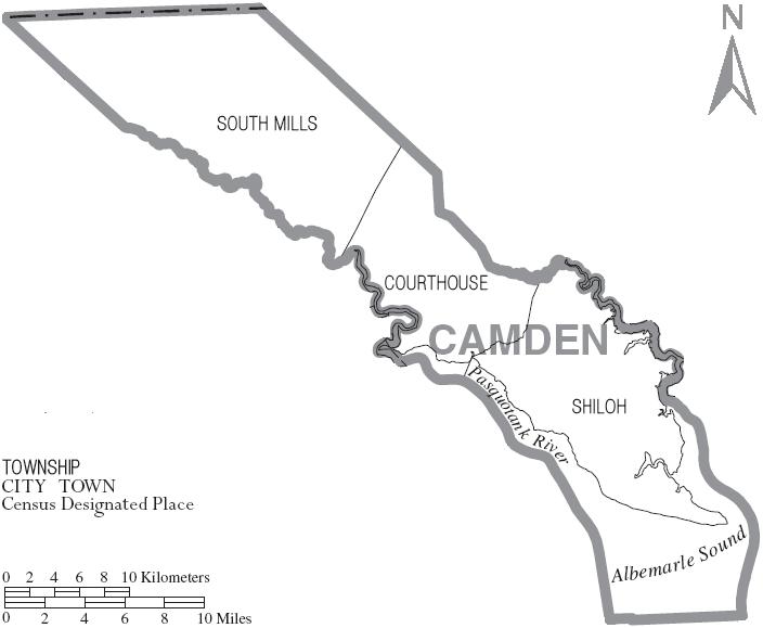 Camden County Maps on