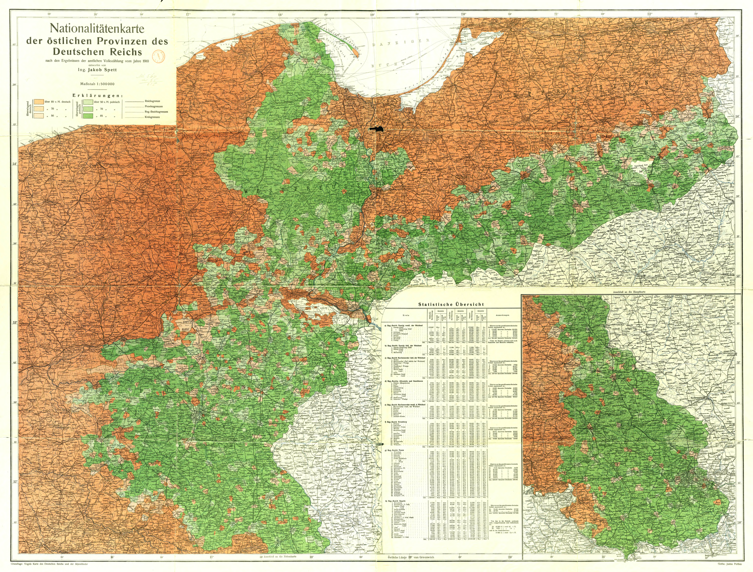 File Map Of Nationalities Of Eastern Provinces Of German Empire According To German Census Of 1910 By Jakob Spett Png Wikimedia Commons