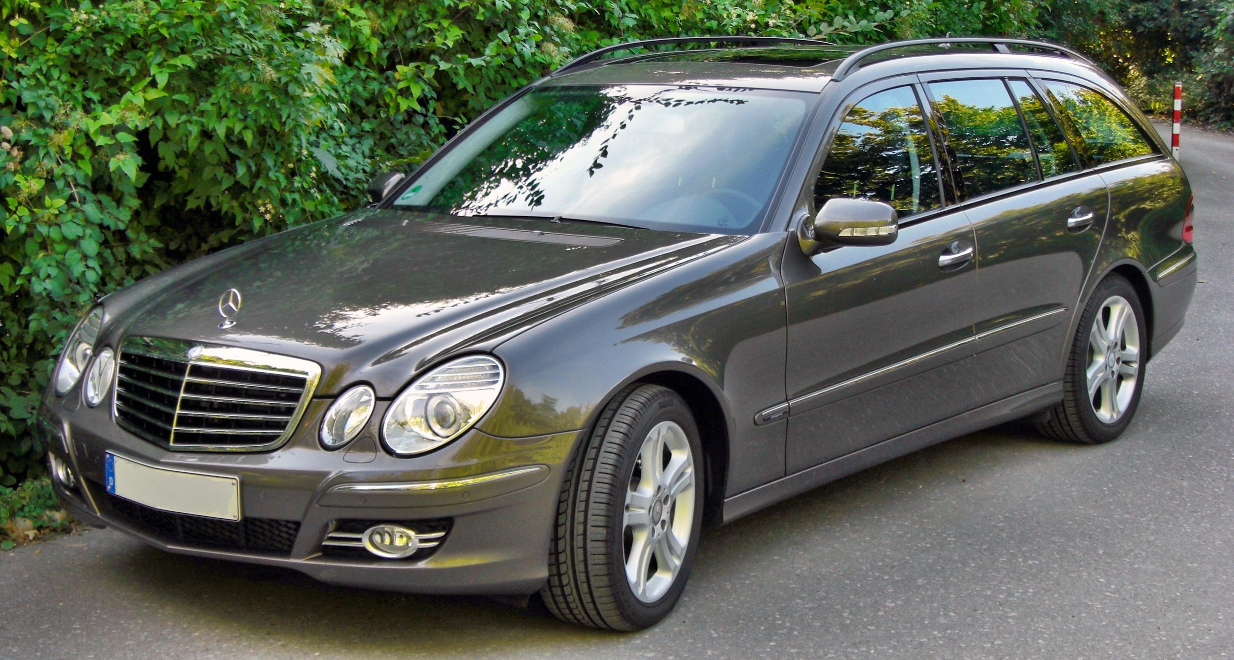 file mercedes e280cdi t modell avantgarde facelift front jpg wikimedia commons. Black Bedroom Furniture Sets. Home Design Ideas