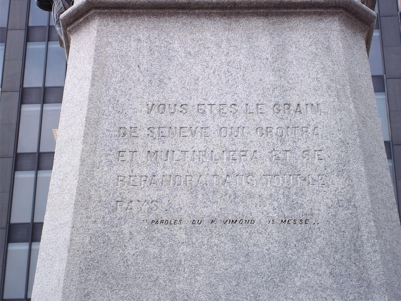 Fichier Monument A Maisonneuve Citation 2 Jpg Wikipédia