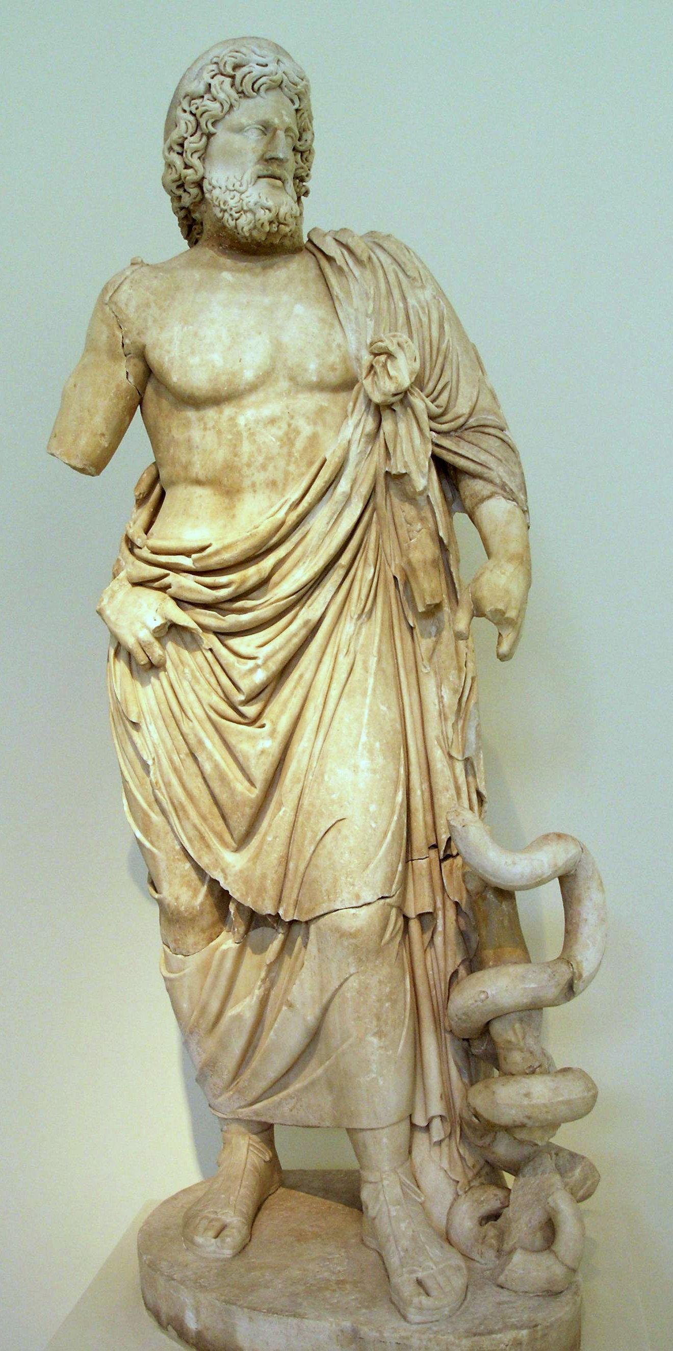 asclepios dieu grec de la medecine le blog de la grange. Black Bedroom Furniture Sets. Home Design Ideas