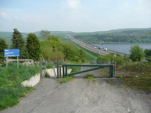 NCN Route 68, Scammonden - geograph.org.uk - 860130
