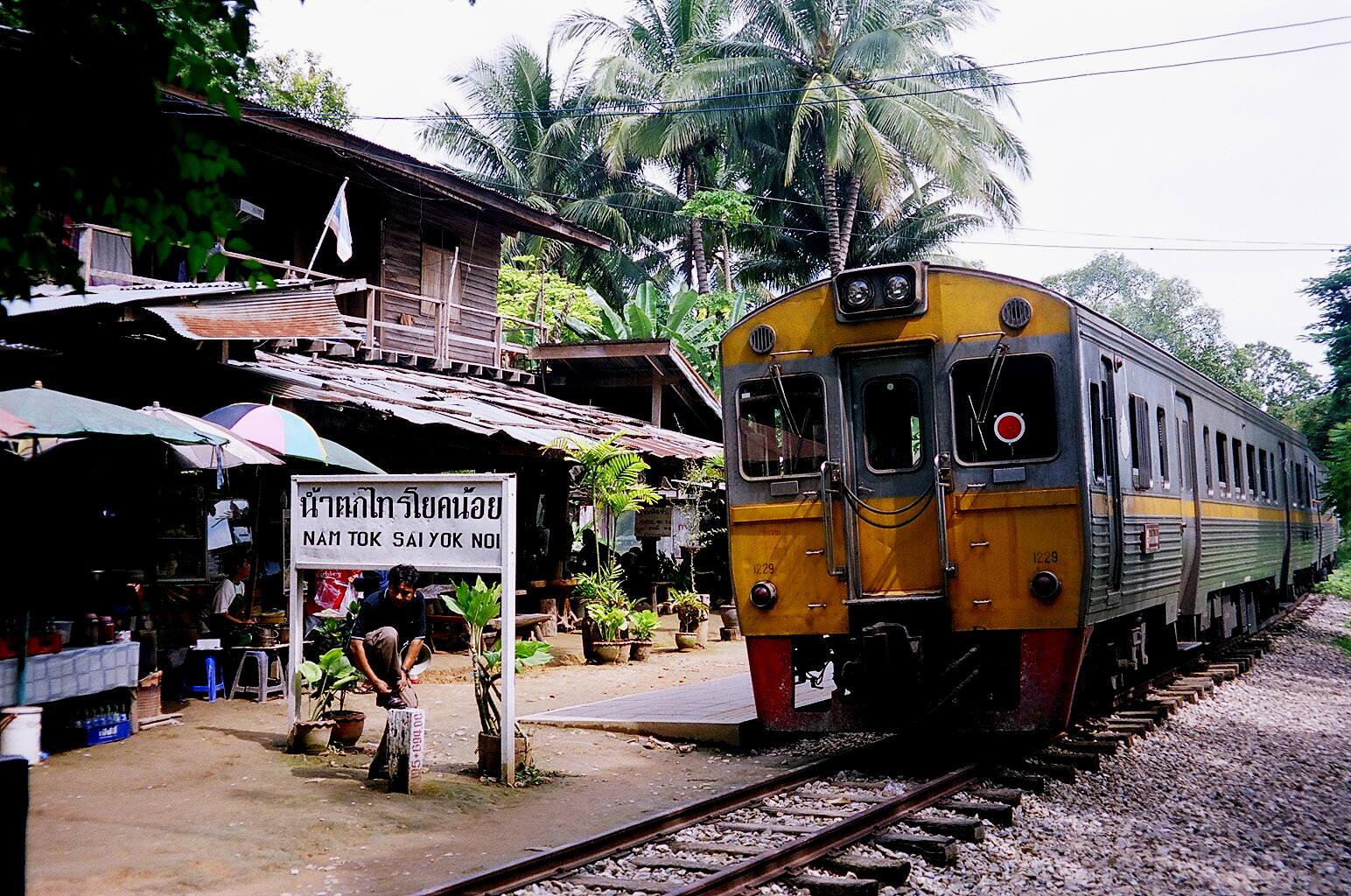 Železniční doprava v Thajsku