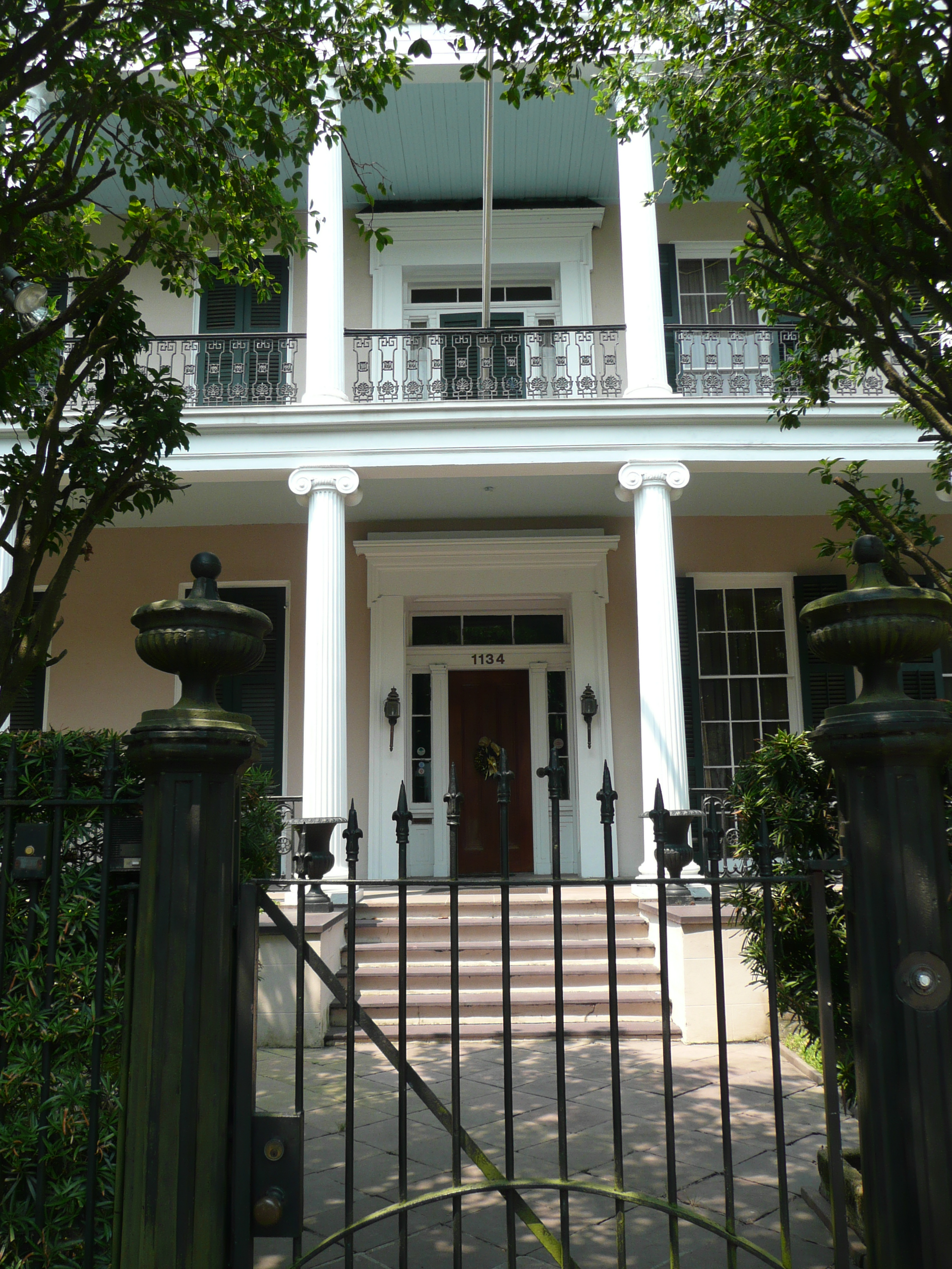 File New Orleans 1134 First Street Front Door Jpg