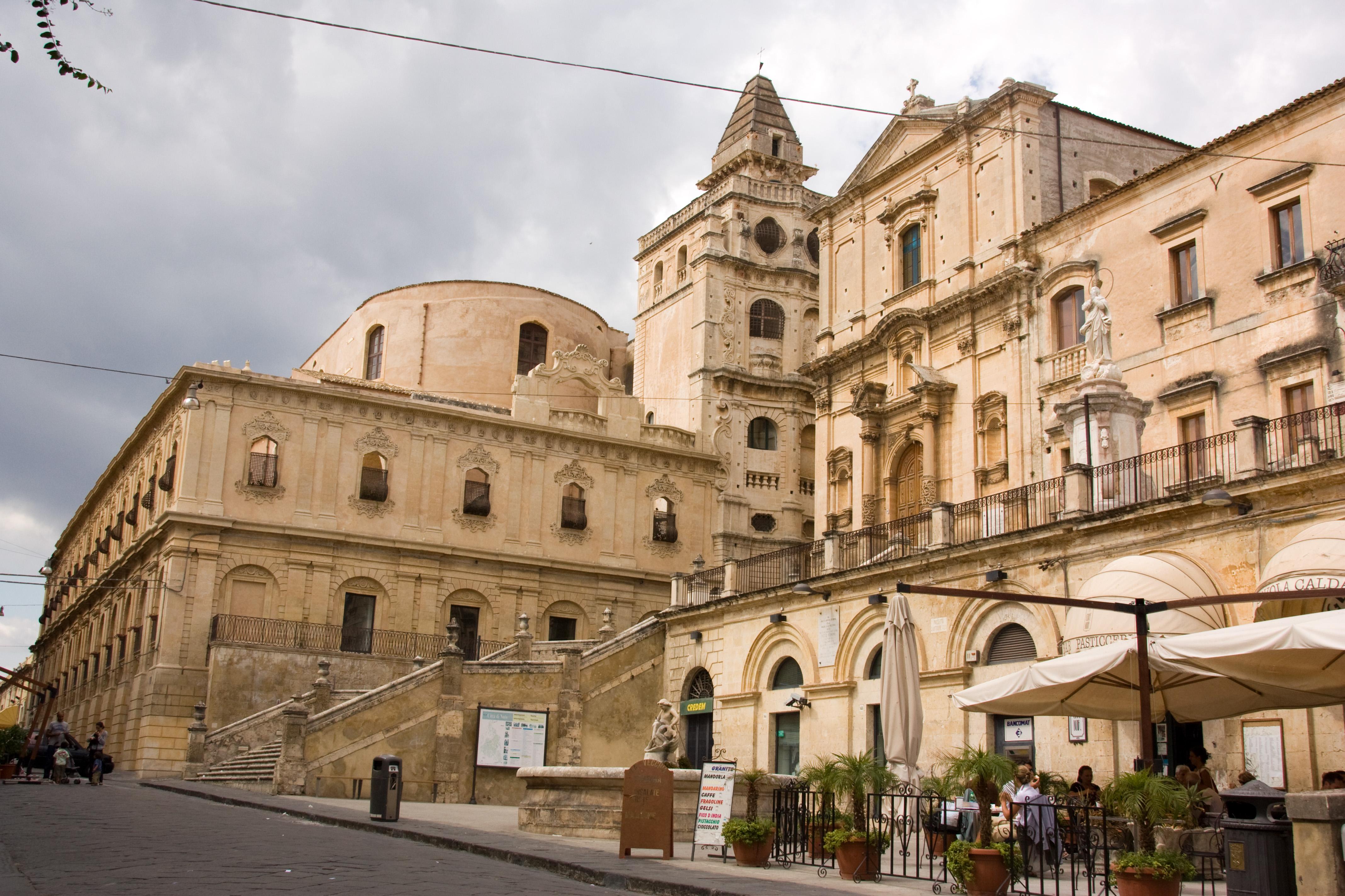 Barocco in sicilia noto for Noto architetto torinese