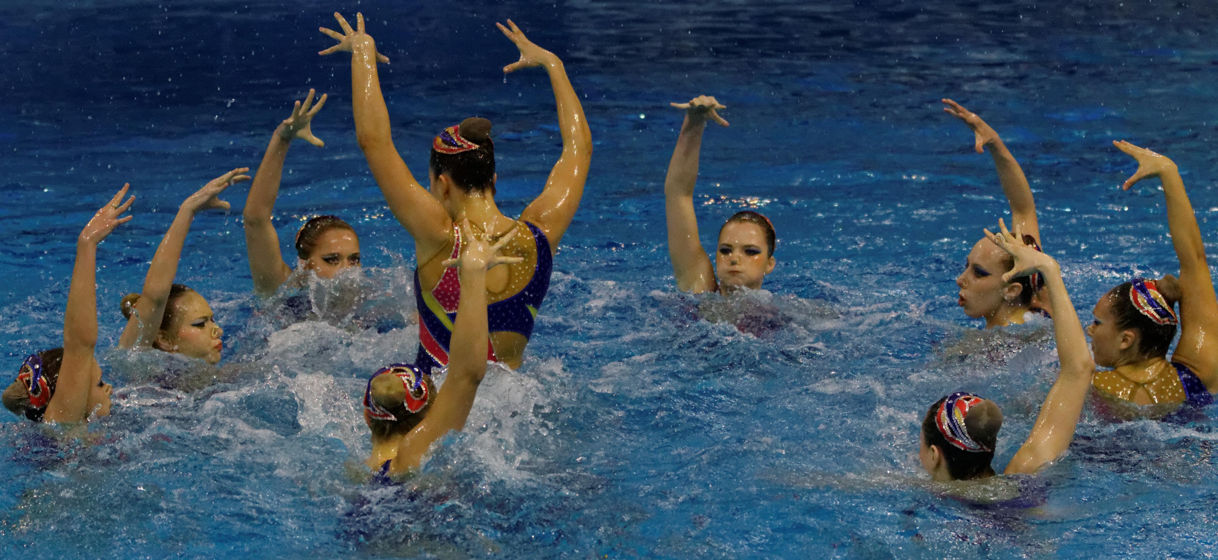 4e4a4abf2d08 Nuoto sincronizzato - Wikipedia