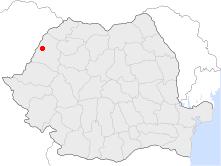 Location of Oradea