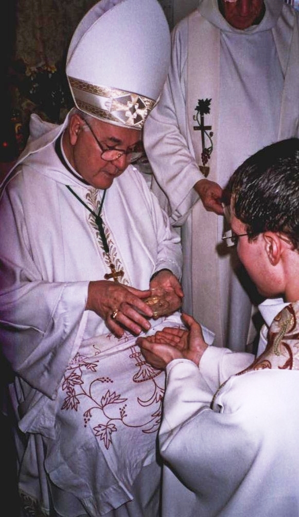 Ordinazione Presbiterale Nel Rito Romano Della Chiesa