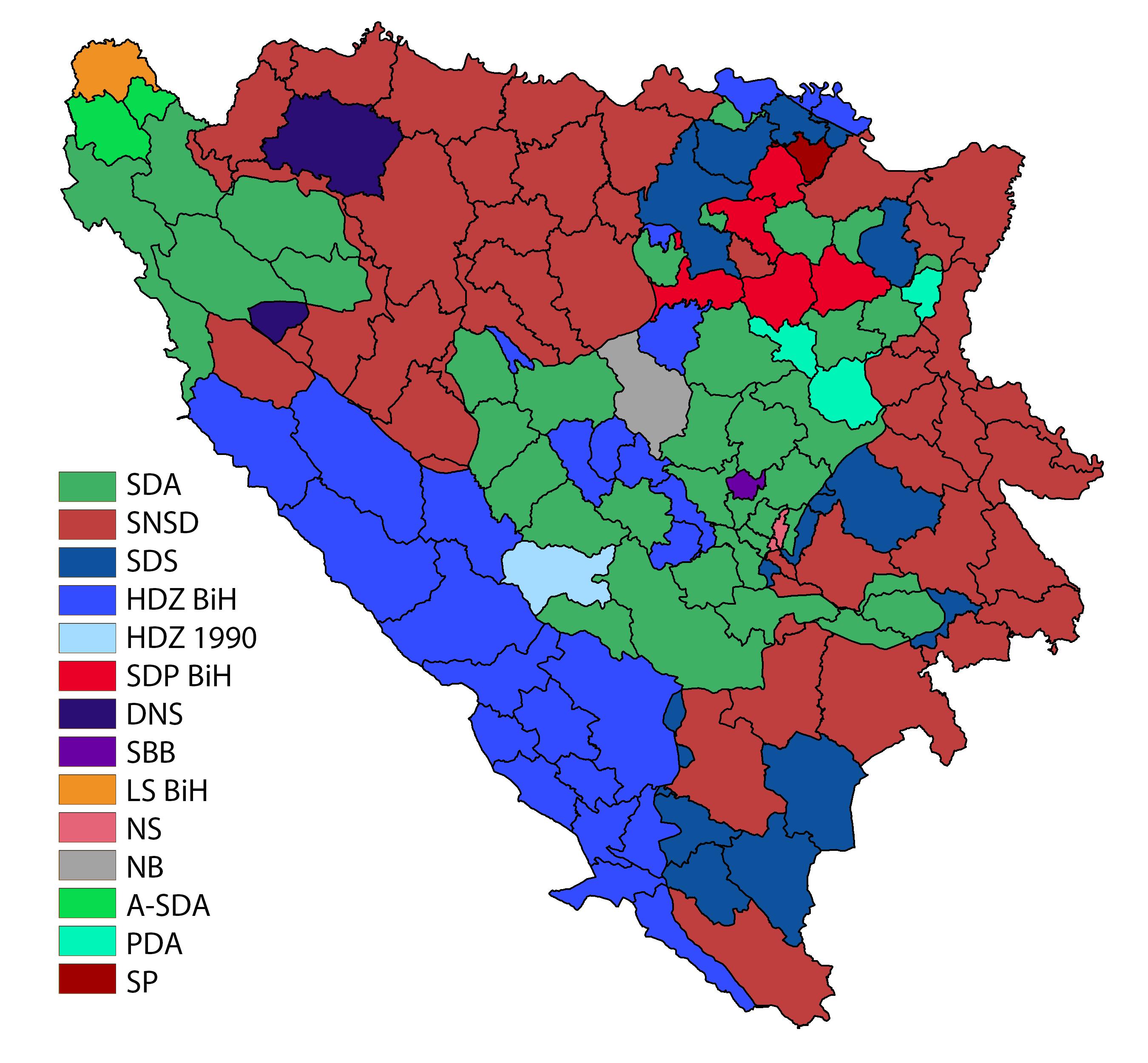 File:Parlamentarni izbori u BiH 2018 png - Wikimedia Commons